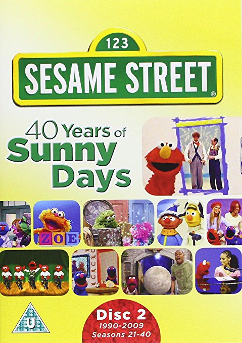 Sesame Street: 40 Years of Sunny Days Complete over 5 Hrs 3 DVD Set  1969-2009