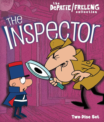 THE INSPECTOR COMPLETE 34 EPISODES 2 DVD SET 1965-69 RARE CARTOON