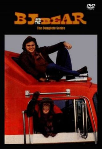 TV BJ AND THE BEAR 12 DVD COMPLETE 1979 TV SERIES