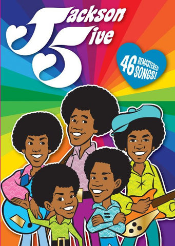 JACKSON 5 FIVE ANIMATED CARTOON 2 DVD SET COMPLETE 23 EPISODES 1972