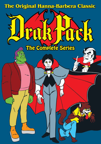 DRAK PACK COMPLETE 16 EPISODE CARTOON 2 DVD SET 1980