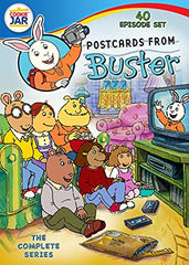 POSTCARDS FROM BUSTER COMPLETE 40 EPISODES DVD SET ARTHUR REBOOT SHOW 2004