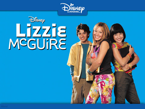 TV LIZZIE MCGUIRE COMPLETE 9 DVD SET + MOVIE 2001-2004 VERY RARE SHOW