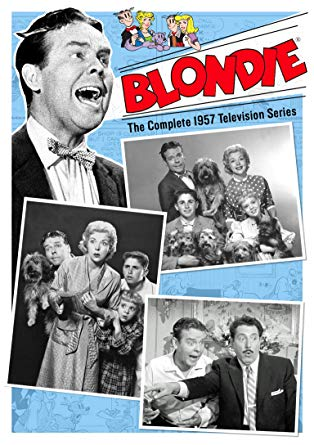 TV BLONDIE COMPLETE TV SERIES 4 DVD SET VERY RARE SHOW 1957