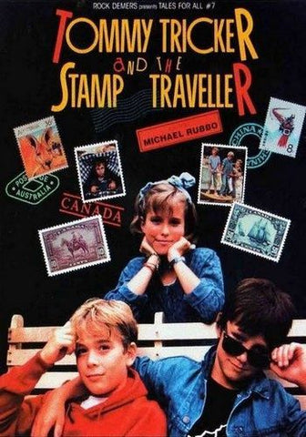TV TOMMY TRICKER AND THE STAMP TRAVELLER DVD VERY RARE 1988 MOVIE