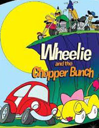 KIDS WHEELIE & THE CHOPPER BUNCH COMPLETE DVD SET 1974-75 VERY RARE CARTOON