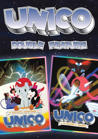 FANTASTIC ADVENTURES OF UNICO DOUBLE FEATURE DVD SET 1981-83