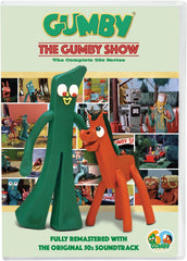 GUMBY SHOW 1957-1968 130 EPISODES 3 DVD SET