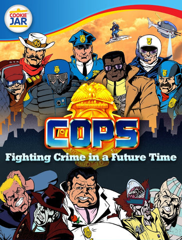 C.O.P.S. Animated Series Complete 65 Episodes 6 DVD Set 1988-89