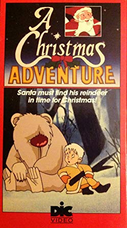 XMAS A CHRISTMAS ADVENTURE DVD SET DIC EXTREMELY RARE CARTOON 1991