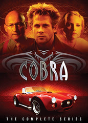 TV COBRA COMPLETE TV SERIES 5 DVD SET 1993-94 EXTREMELY RARE SHOW