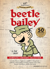 BEETLE BAILEY COMPLETE 50 EPISODES DVD SET KIDS VERY RARE CARTOON 1963-64
