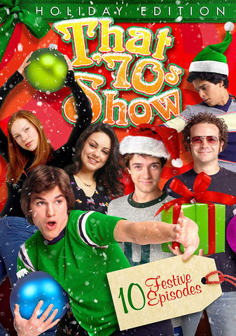 XMAS TV THAT 70S SHOW 10 EPISODE HOLIDAY SPECIAL DVD 2019