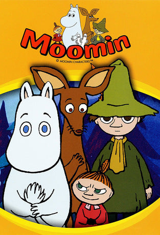MOOMIN COMPLETE CARTOON DVD SET 1990 SERIES VERY RARE JAPANESE ANIME