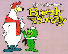 BREEZLY & SNEEZLY COMPLETE 23 EPISODES DVD SET VERY RARE CARTOON 1964