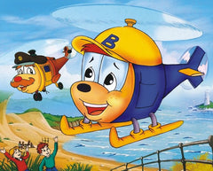 BUDGIE THE LITTLE HELICOPTER COMPLETE 39 EPISODES KIDS SHOW 4 DVD SET 1994 RARE