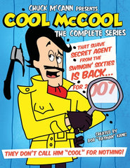 COOL McCOOL COMPLETE 20 EPISODES DVD SET VERY RARE CARTOON 1966-69
