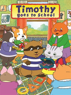 Timothy Goes To School Complete 26 Episodes 3 Dvd Set 2000