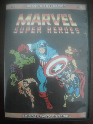 MARVEL SUPER-HEROES IRON MAN THOR HULK CAPTAIN AMERICA 13 DVD BUNDLE