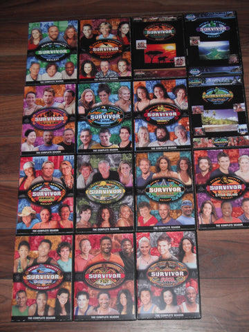 TV SURVIVOR 1-37 HIGH DEFINITION  DVD CASE ARTWORK DOWNLOADABLE  LINK