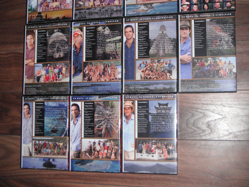 ... TV Survivor 1-37 Complete DVD Bundle w/cases & artwork 2000-2018 ...