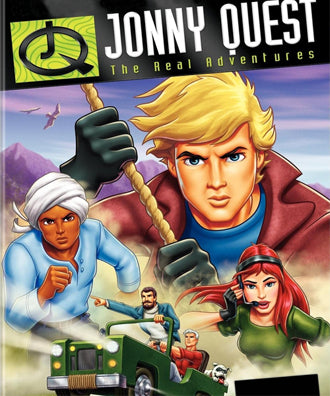 THE REAL ADVENTURES OF JONNY QUEST COMPLETE 52 EPISODES VERY RARE CARTOON 1996-97