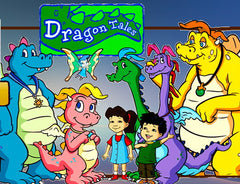 Dragon Tales -Complete Collection Season 1-3 10 DVD Set 1999-2005