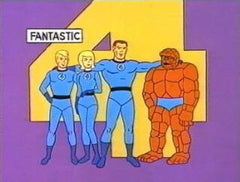 FANTASTIC 4 COMPLETE 20 EPISODES DVD SET VERY RARE 1967 CARTOON