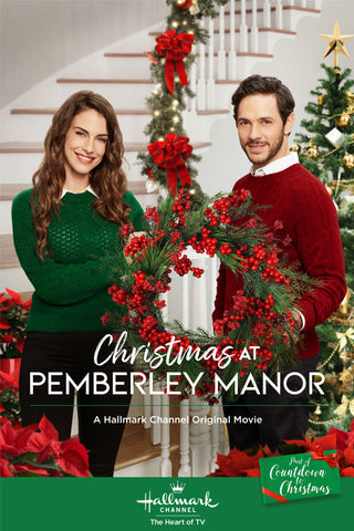 XMAS CHRISTMAS AT PEMBERLEY MANOR 2018 HALLMARK MOVIE DVD