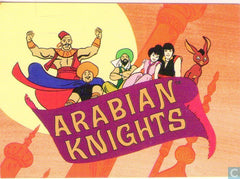 ARABIAN KNIGHTS COMPLETE CARTOON DVD SET 18 EPISODES VERY RARE SHOW 1968-69