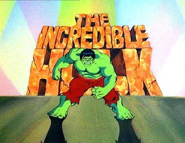 THE INCREDIBLE HULK 1982 ANIMATED SERIES 2 DVD SET COMPLETE 13 EPISODES