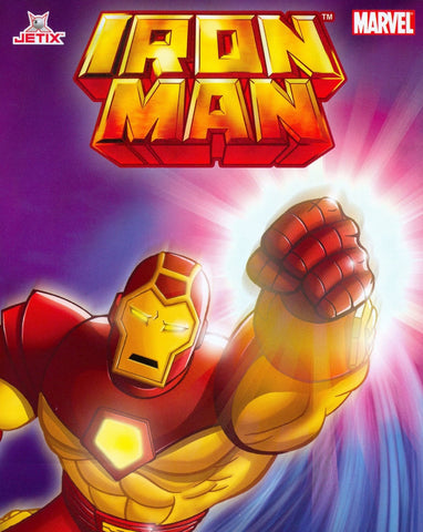 IRON MAN 1994 ANIMATED SERIES 4 DVD set 26 eps COMPLETE