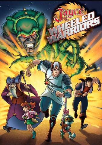 JAYCE AND THE WHEELED WARRIORS COMPLETE 65 EPISODES DVD SET VERY RARE 1985 CARTOON