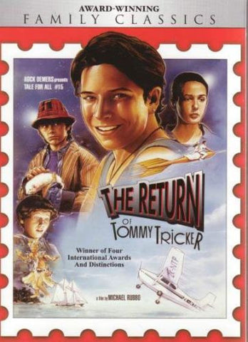 TV THE RETURN OF TOMMY TRICKER STAMP TRAVELLER 2 MOVIE VERY RARE 1994