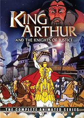KING ARTHUR & THE KNIGHTS OF JUSTICE COMPLETE DVD SET 1992-93 VERY RARE CARTOON