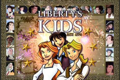 LIBERTY'S KIDS est 1776 COMPLETE 40 EPISODES DVD SET 2002-2003 VERY RARE CARTOON