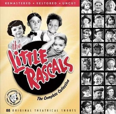 TV LITTLE RASCALS DVD SET 1-11 88 EPISODES