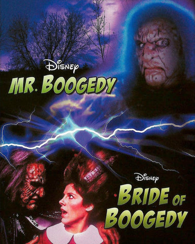 TV MR BOOGEDY + BRIDE OF BOOGEDY 2 PACK DISNEY MOVIES DVD 1986-87 VERY RARE