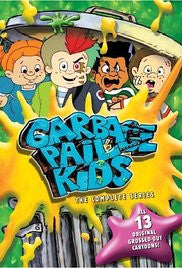 GARBAGE PAIL KIDS COMPLETE 13 EPISODES + MOVIE 1987 DVD SET SUPER RARE SHOW