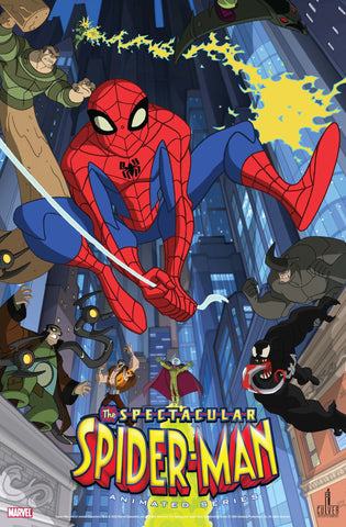 SPECTACULAR SPIDERMAN COMPLETE SEASON 1 & 2 - 4 DVDS 2008-09 VERY RARE DVD