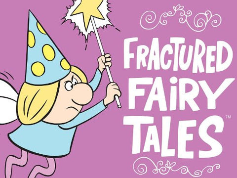 FRACTURED FAIRY TALES COMPLETE CARTOON 1959 2 DVD SET
