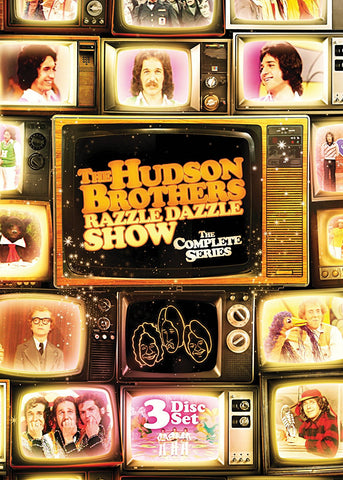 TV THE HUDSON BROTHERS RAZZLE DAZZLE SHOW COMPLETE 3 DVD SET 1974-75