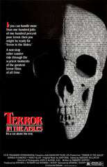 TV TERROR IN THE AISLES DVD SCARY HALLOWEEN MOVIE VERY RARE 1984