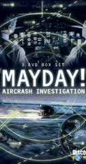 TV AIR CRASH INVESTIGATIONS MAYDAY COMPLETE SEASON 20 DVD SET 2019-20