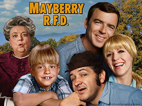 TV MAYBERRY R.F.D. COMPLETE DVD SET 1968-71 VERY RARE SHOW ANDY GRIFFITH SPIN-OFF