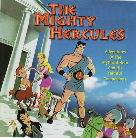THE MIGHTY HERCULES COMPLETE 3 DVD's (1963-66) EXTREMELY RARE CARTOON