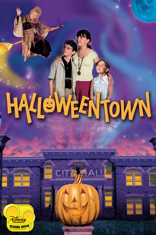 TV HALLOWEENTOWN 4 MOVIE PACK 1998-2006 DVD SET