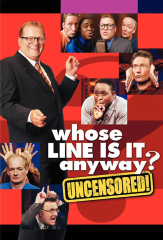 TV WHOSE LINE IS IT ANYWAY? COMPLETE SEASONS 1-9 US VERSION DVD SET VERY RARE SHOW DREW CAREY 1998-2007