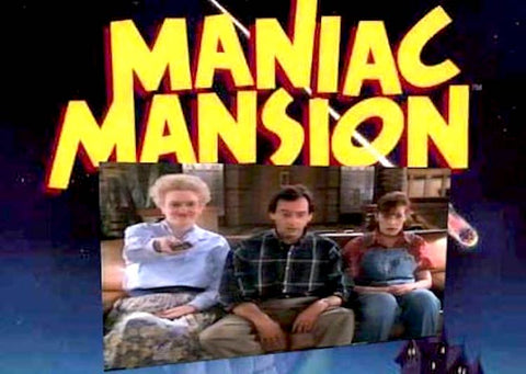 TV MANIAC MANSION TV SHOW 1990-93 9 DVD SET VERY RARE