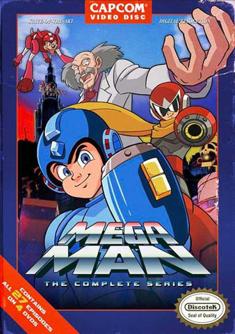 MEGA MAN COMPLETE EPISODES 1-27 ENGLISH ANIME 6 DVD Set MEGAMAN RARE!! 1994